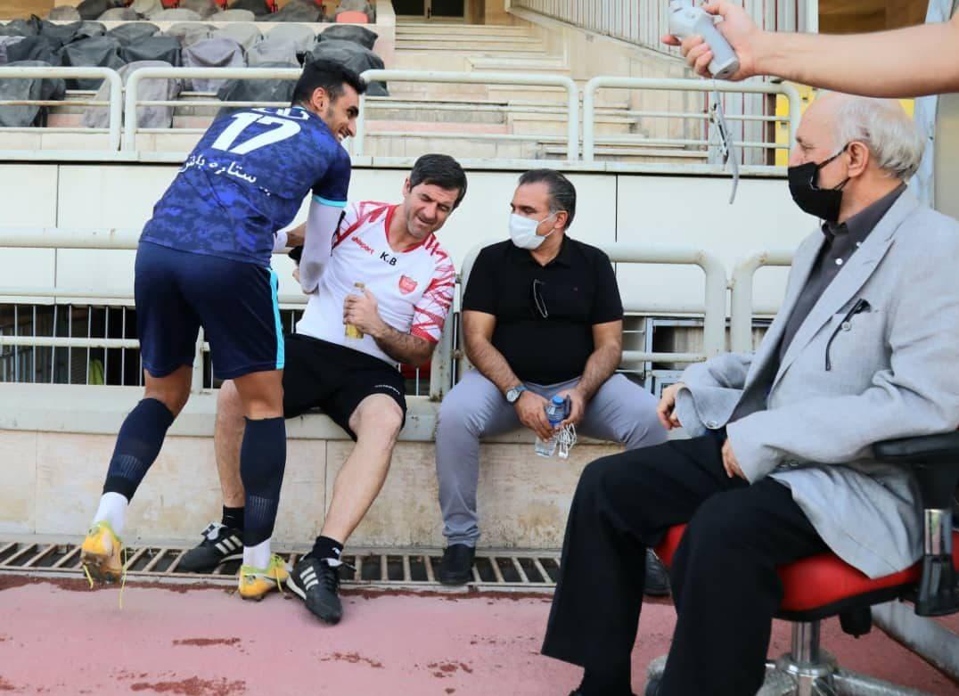 پرسپولیس و پیکان با طعم کیک تولد محمود خوردبین
