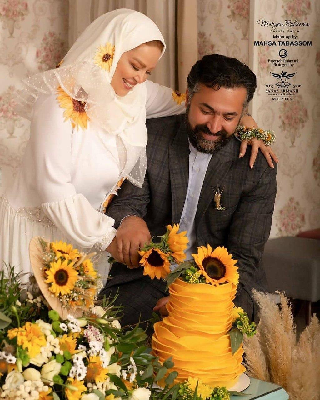 عکس سالگرد ازدواج بهاره رهنما