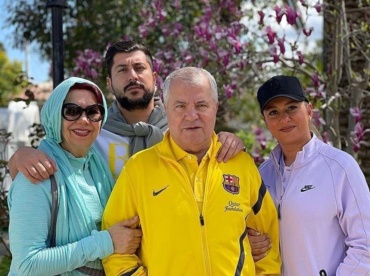 سیر تا پیاز ازدواج عروس علی پروین با آقای بازیگر! + عکسهای خانوادگی سلطان