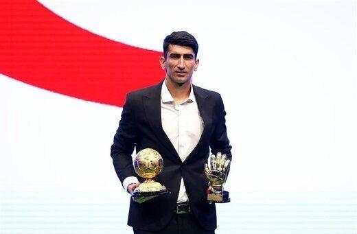دیدار بیرانوند با ژاوی در مراسم برترینهای فوتبال آسیا + عکس