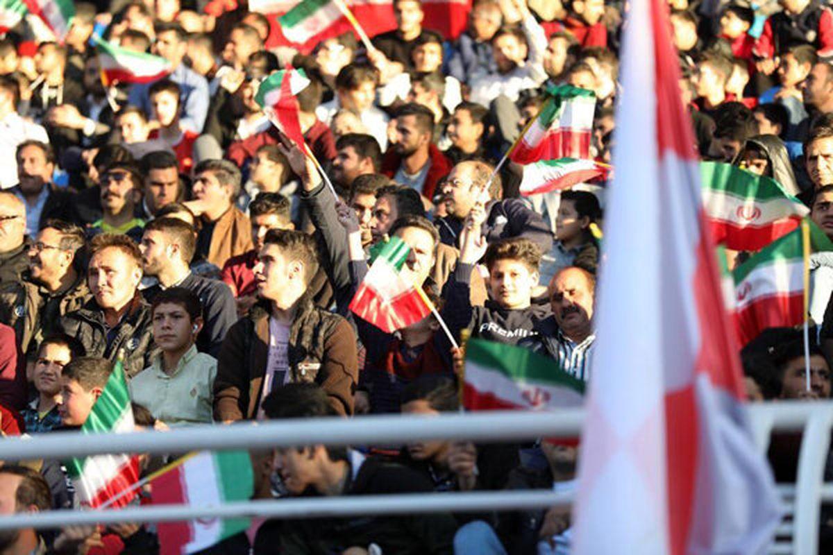 حضور تماشاگران در دیدار تیم ملی فوتبال ایران و کره قطعی شد