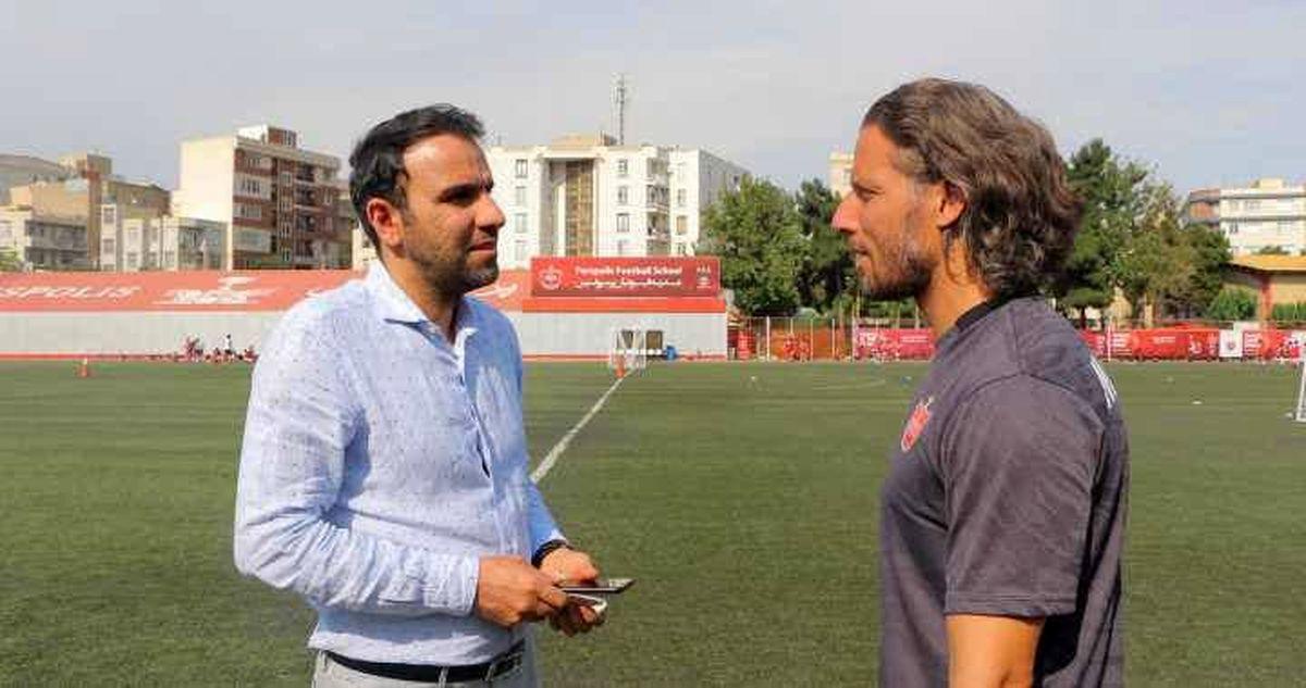 بازگشت«اشپیتیم آرفی» به باشگاه پرسپولیس