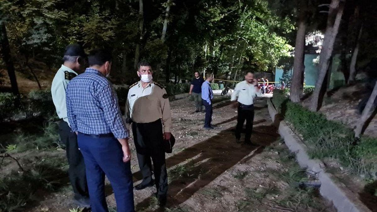 فوری؛ انفجار در پارک ملت ! / صدایی مهیب در شمال غرب تهران + عکس و فیلم