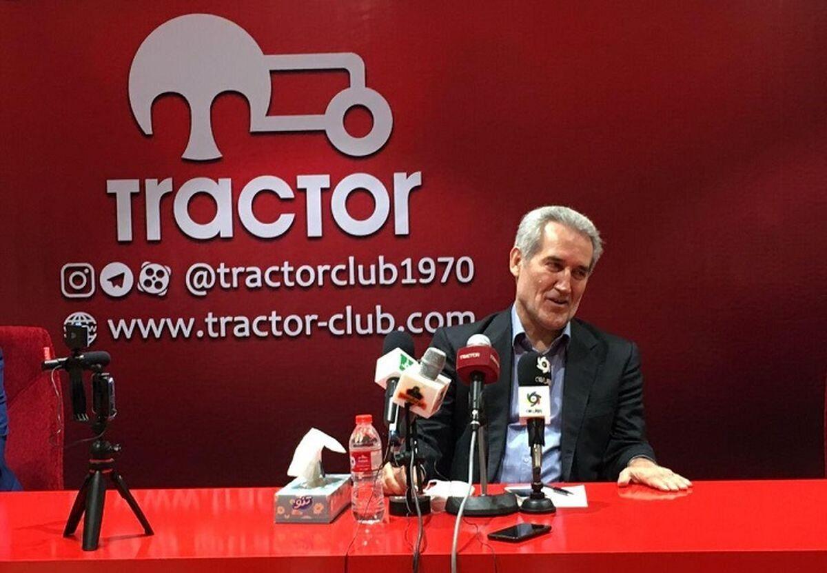 سؤال مهم هواداران تراکتور:مدیرعامل باشگاه استعفا داد یا استعفایش دادند؟