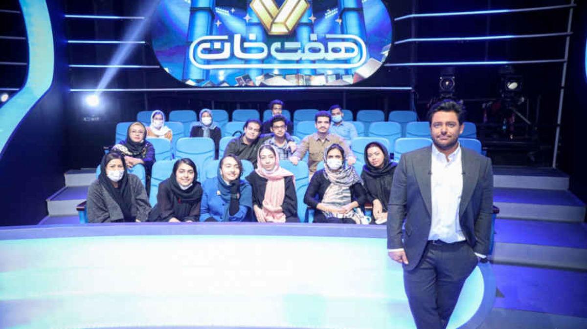 بنیامین بهادری در مسابقه هفت خان