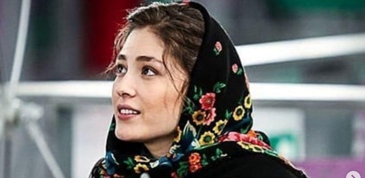 ماشین سواری فرشته حسینی با بازیگر مرد معروف
