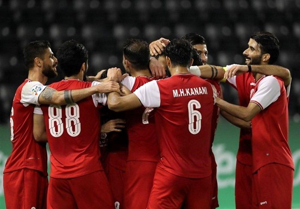 پرسپولیس برترین تیم ایران و چهارم آسیا