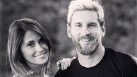 سورپرایز خاص و رمانتیک لیونل مسی برای همسرش در روز عشق + عکس