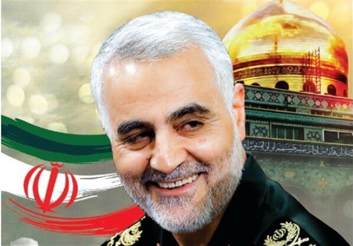 قرار گرفتن خودرو تکه تکه شده سردار سلیمانی در محل شهادت