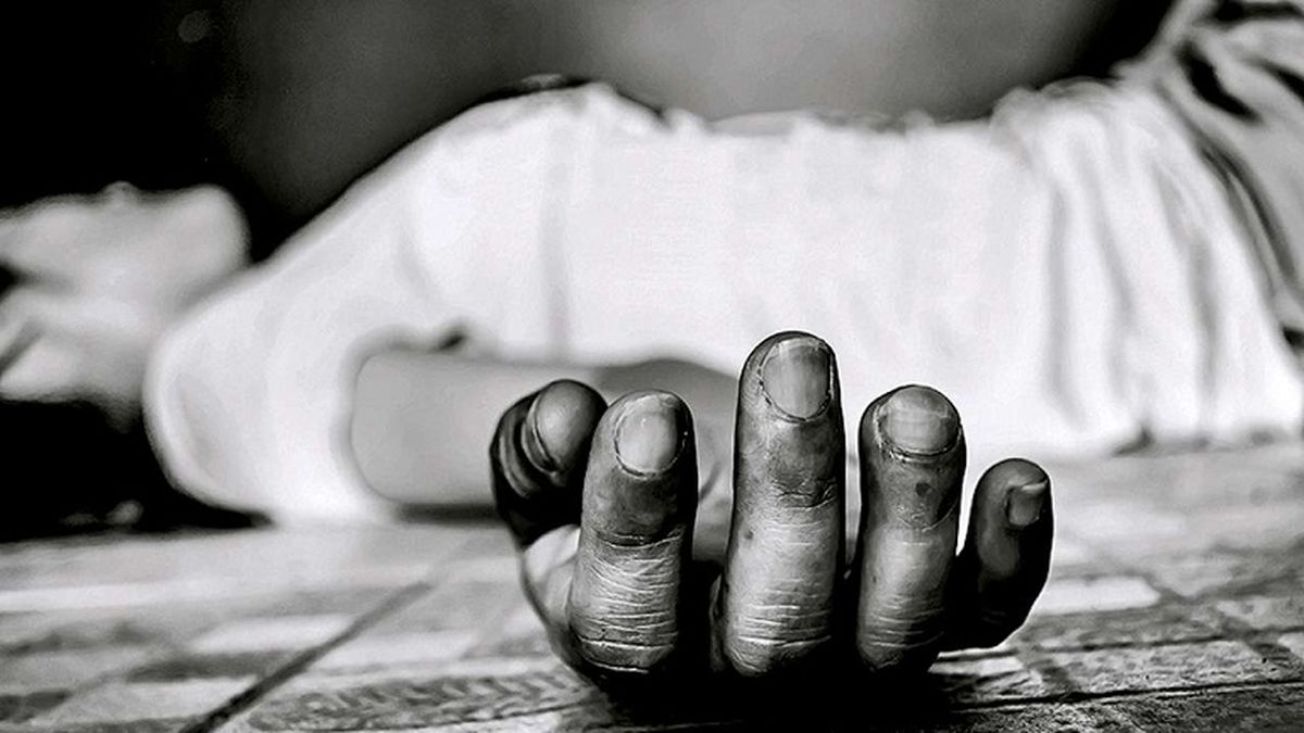 فیلم 18+ از لحظه خودکشی فجیع پسر رشتی/ همه جیغ کشیدند