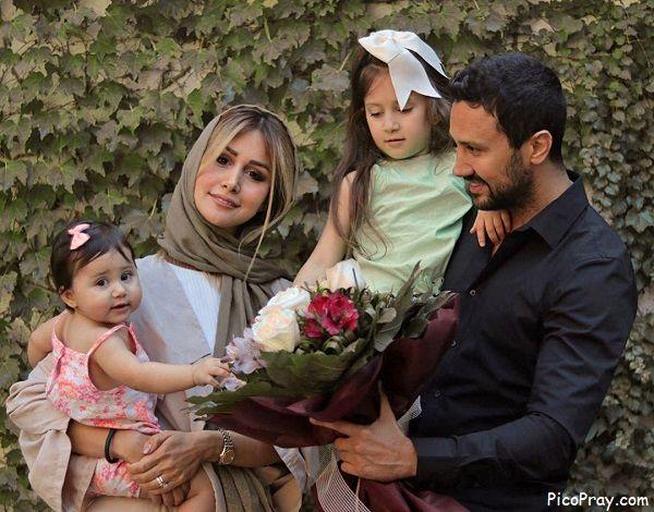 عکس چهره ظریف سپیده بزمی پور همسر شاهرخ استخری