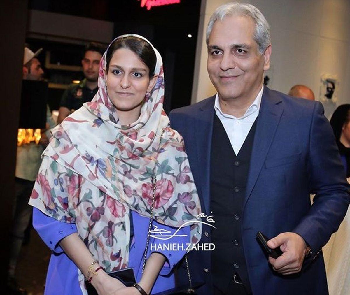 عکس لورفته از مهران مدیری و همسرش + عکس مدیری و فرزندانش با تیپ  خاص