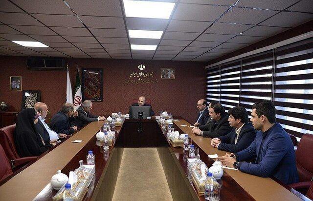 جلسه ویژه مدیران فدراسیون فوتبال در وزارت ورزش
