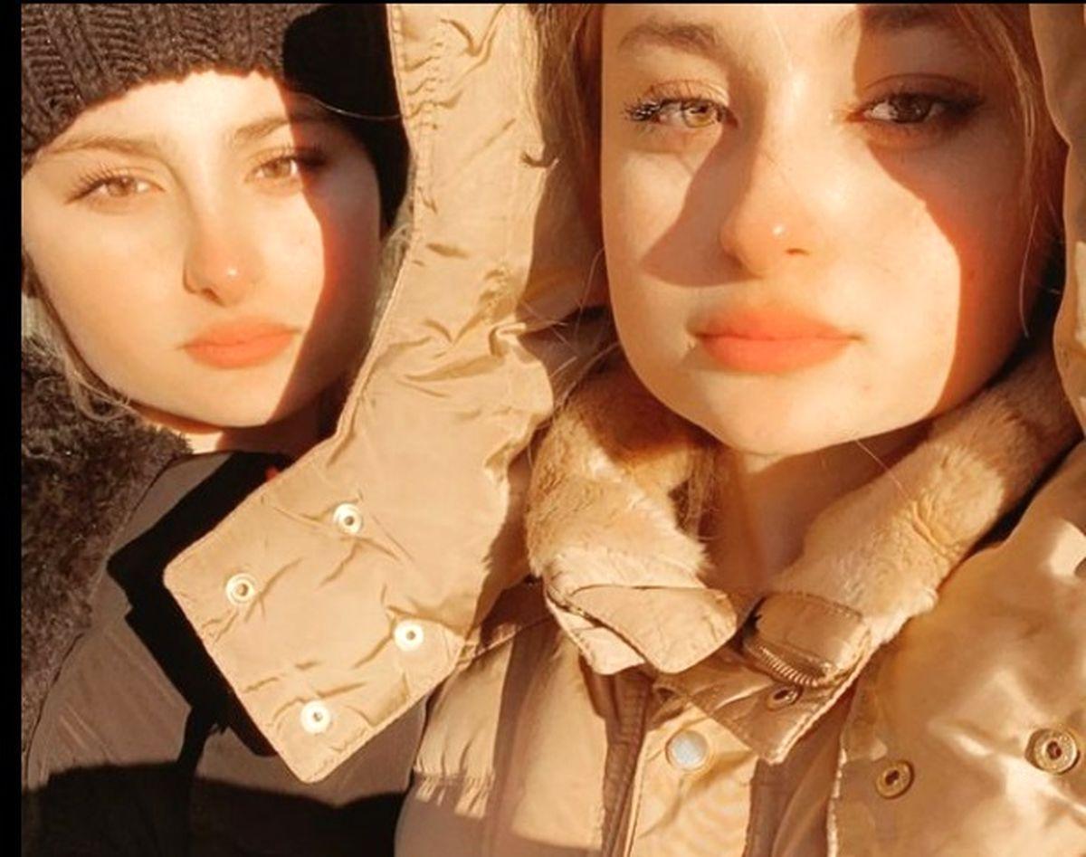 فیلم سانسور شدن سارا و نیکا و واکنش عجیب لیندا کیانی + عکس سارا و نیکا در سوئد