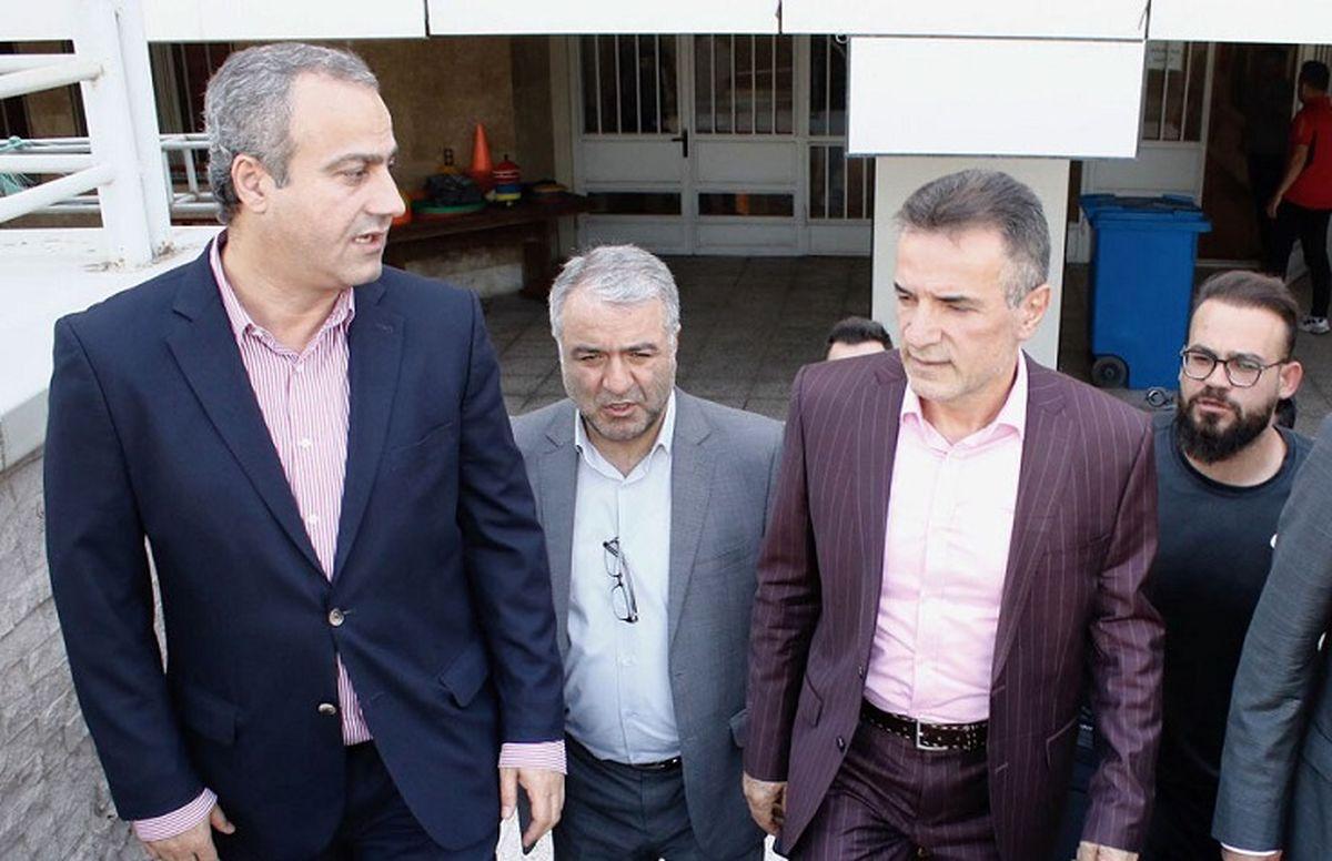 جنجال خرید کتوشلوار میلیونی مدیر پرسپولیس از جیب باشگاه! + سند