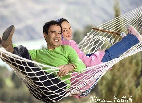 عکس عاشقانه سحر ولدبیگی و همسرش پای هفت سین