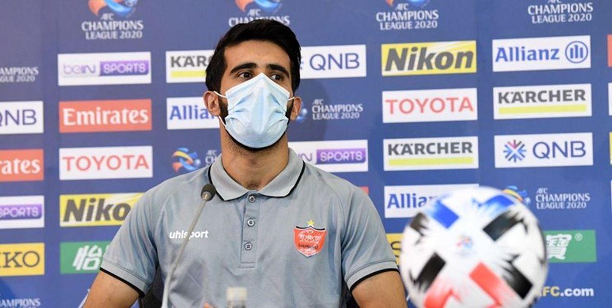 رسن:با انرژی مثبت هواداران بازی می کنیم؛ سطح فوتبال ایران بسیار بالاست