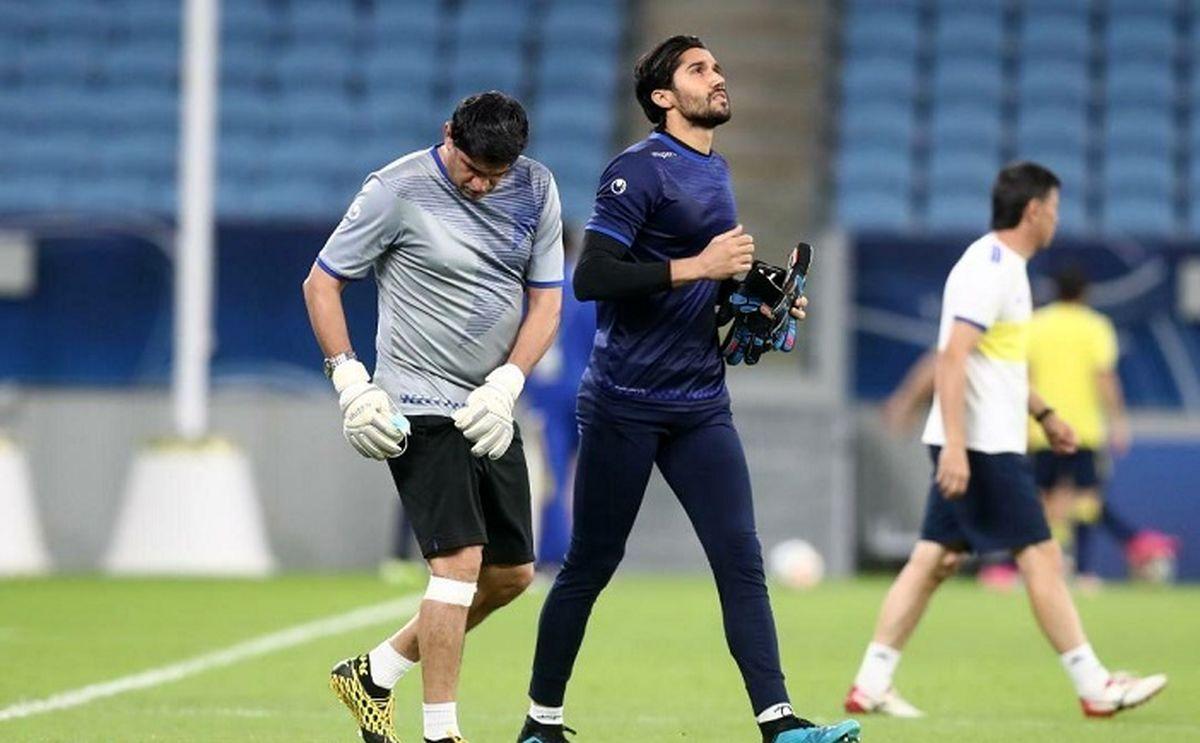 حسینی به باشگاه استقلال نرفت!