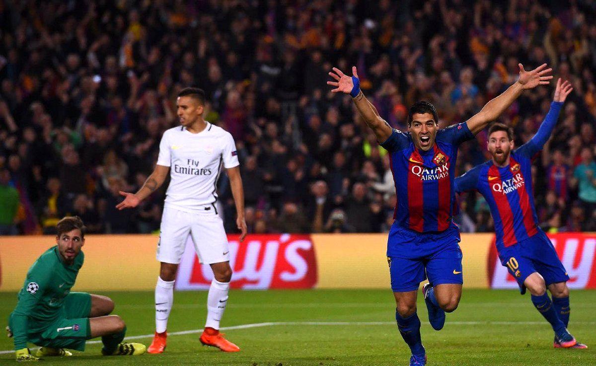 نتیجه بازی پاری سن ژرمن و بارسلونا در لیگ قهرمانان اروپا