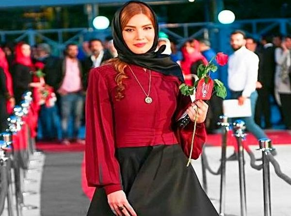 آرایش خاص و  جنجالی متین ستوده + عکس