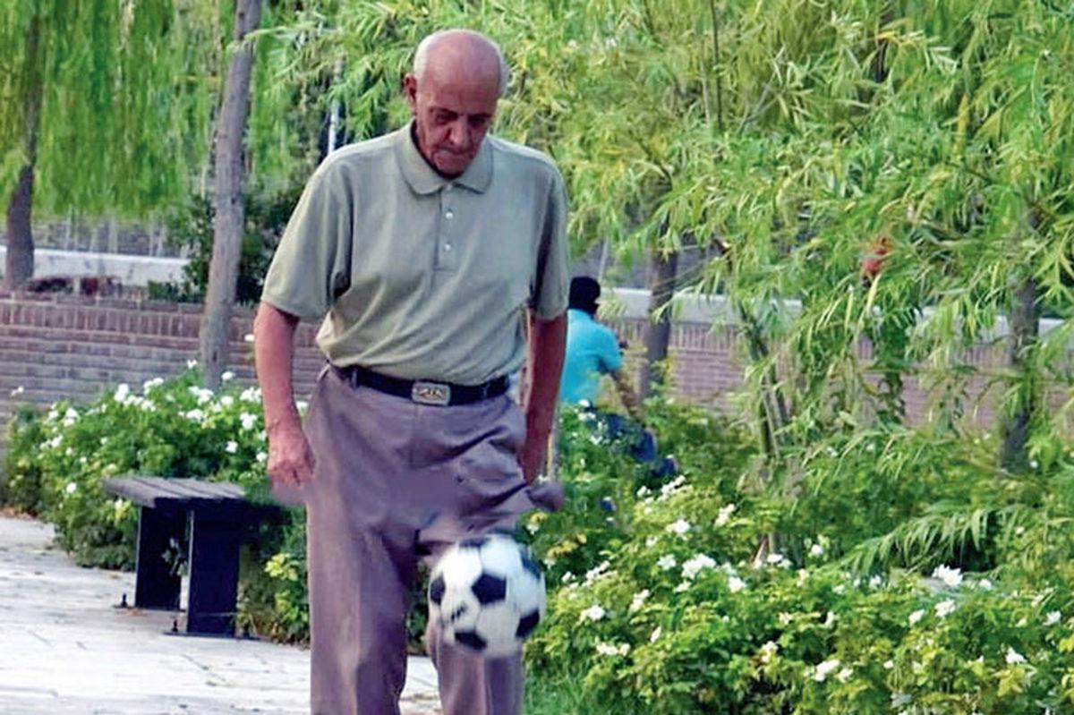 مرگ دراماتیک پیرمرد روپاییزن تهرانی|عکس