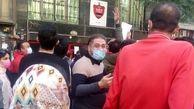 تجمع پرسپولیسیهای خشمگین از مجلس به باشگاه رسید
