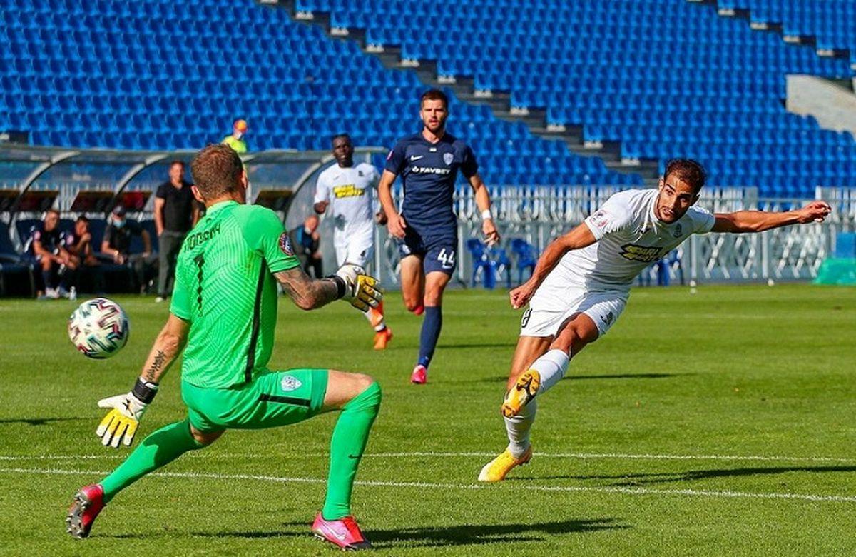 مهاجم ایرانی سومین بازیکن برتر فوتبال اوکراین در سال ۲۰۲۰