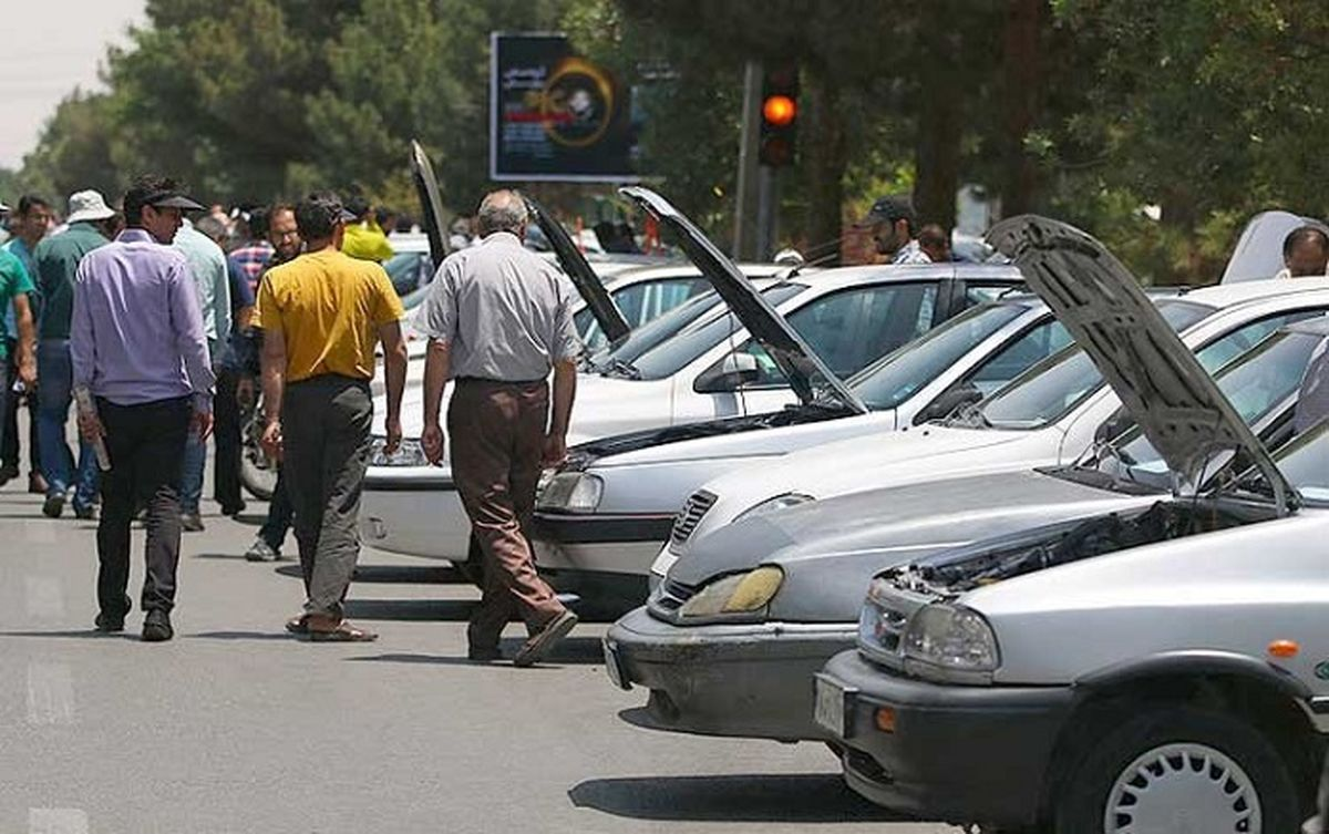 ریزش شدید قیمت خودرو /جو بایدن دلالان ماشین را ورشکست کرد! +جزئیات