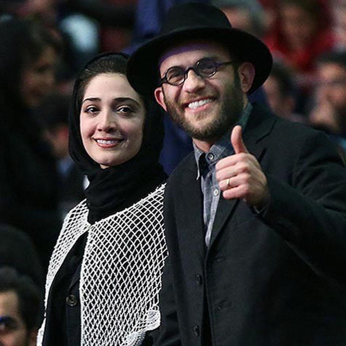 عکس زیرخاکی و جالب از بابک حمیدیان | بیوگرافی بابک حمیدیان و همسرش