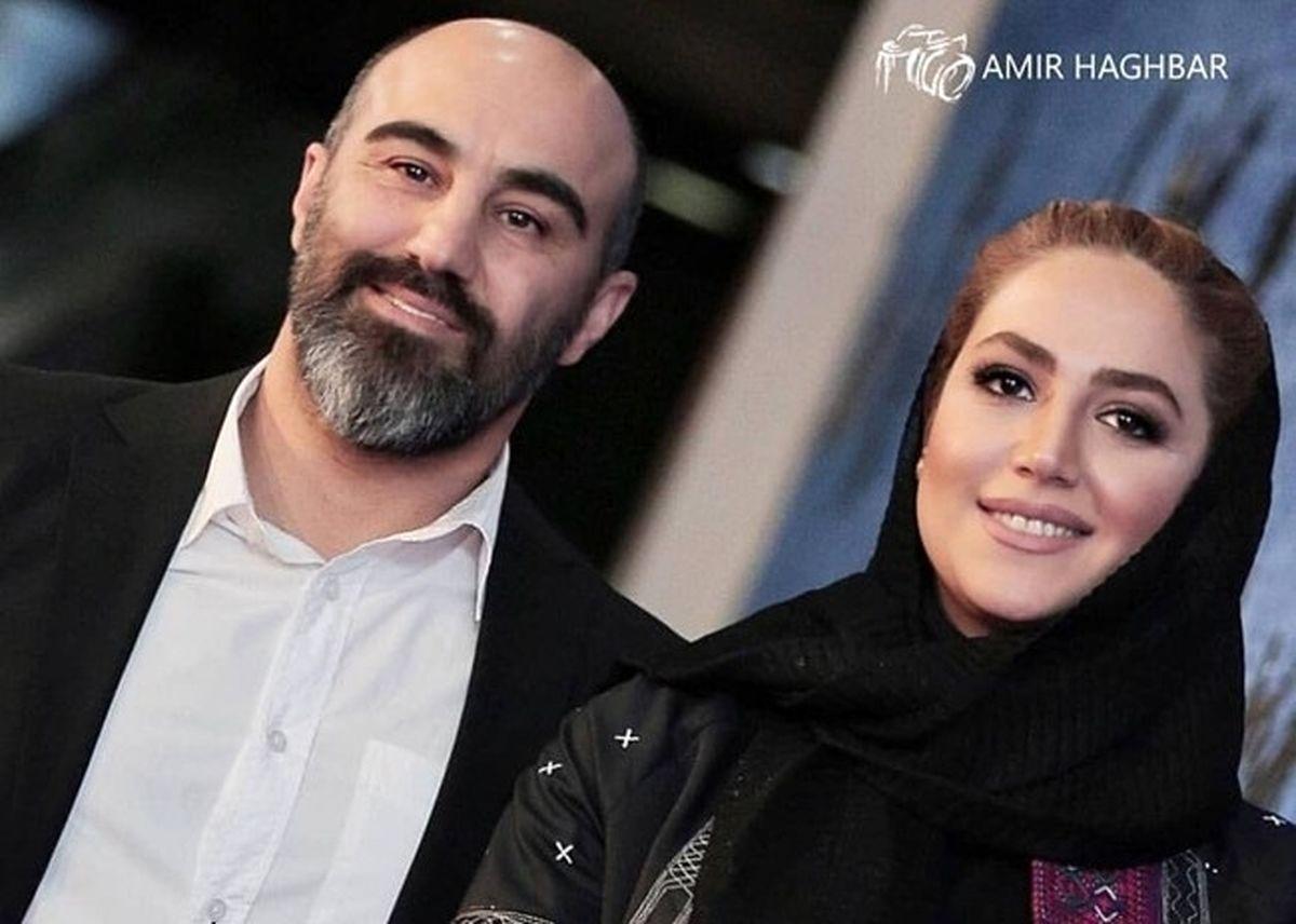خوشگذرانی محسن تنابنده با همسرش در کانادا