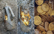 کشف گنج از یک قبر در شهر ری|قبرکنها فرار کردند