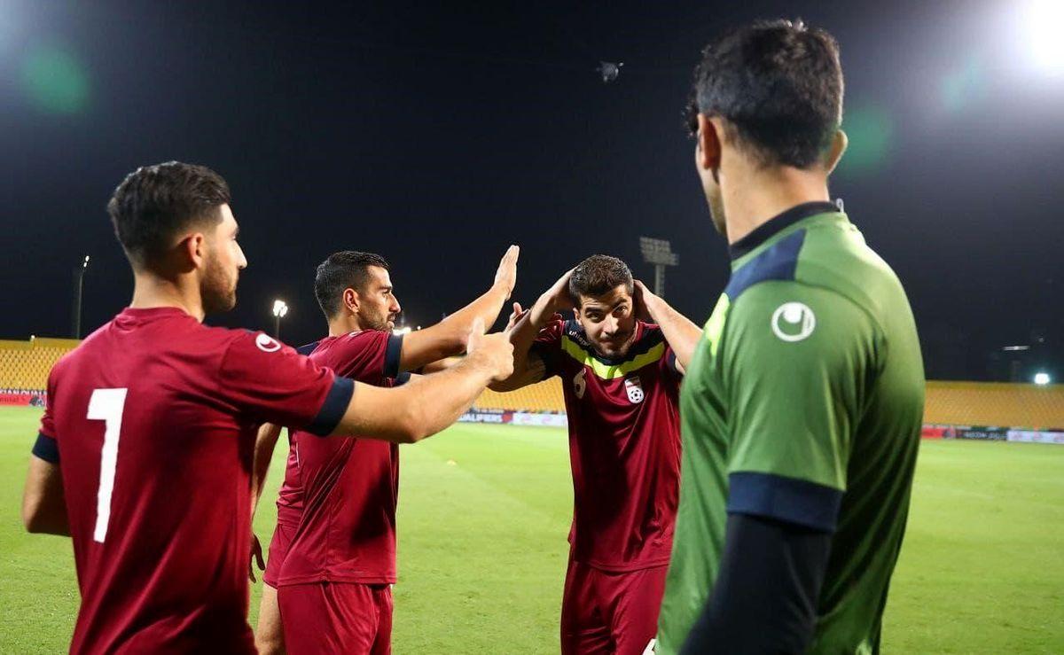 تیم ملی برنده بازی با امارات