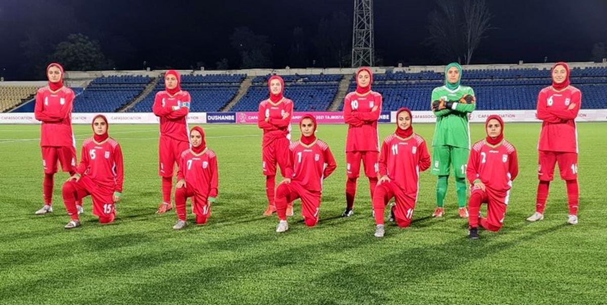 سقوط جایگاه زنان فوتبالیست ایرانی در فیفا