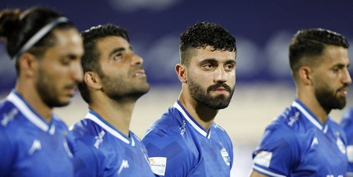 قهر بازیکنان استقلال و عدم پرواز به امارات