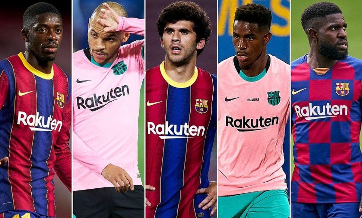 بارسلونا ستارههایش را حراج کرد