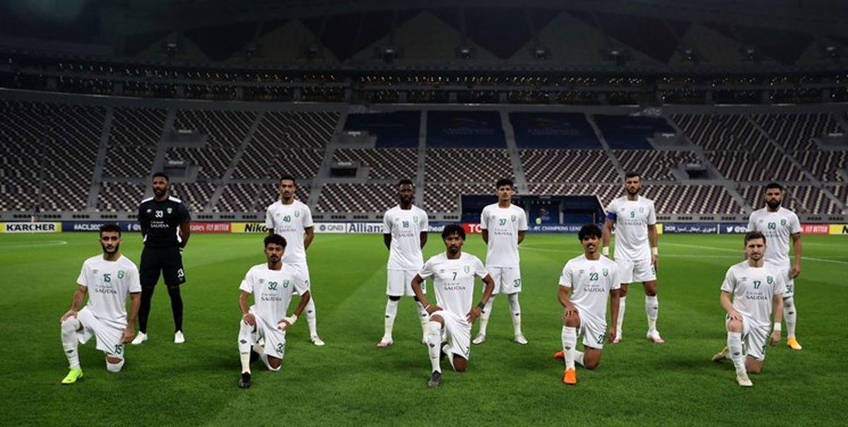 ترکیب الاهلی عربستان برای بازی با استقلال